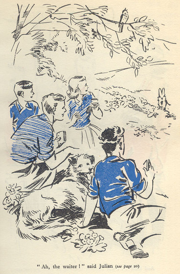 Series Synopsis: Famous Five Books 7-9 (3/4)