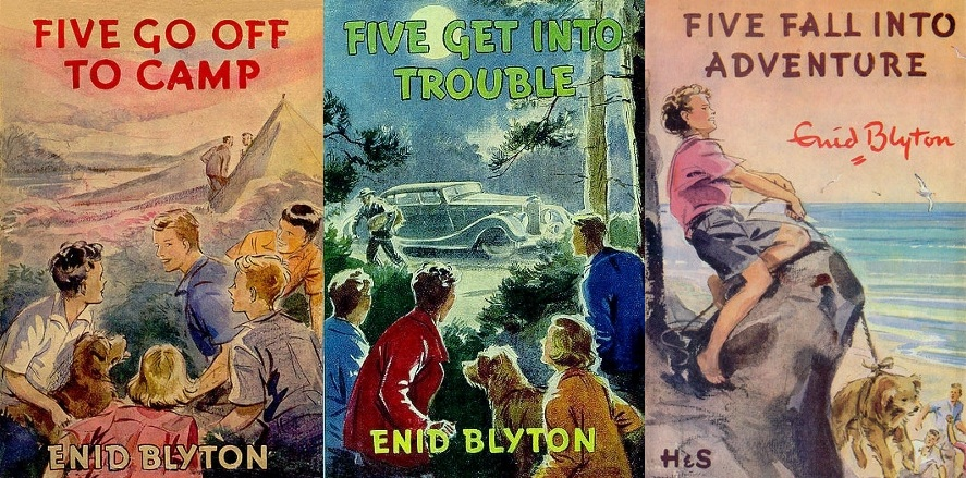 Series Synopsis: Famous Five Books 7-9 (1/4)