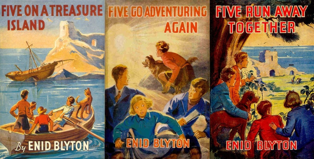 Series Synopsis: Famous Five Books 1-3 (1/4)