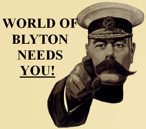 Want to write for World of Blyton?