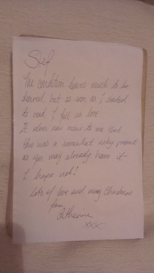 The Note from Catherine