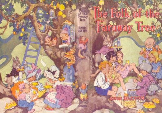 The Folk of the Faraway Tree illustrated by Dorothy M. Wheeler