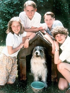 The 90s Famous Five (L- R) Laura Petela, Paul Child, Marco Williamson, Jemima Rooper and Connal