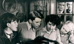 1957 Five on a Treasure Island cast.