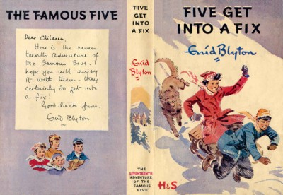 Five get into a Fix 1958 Illustated by Eileen Soper