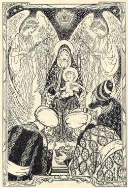 Illustration of the nativity