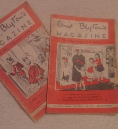 My wonderful Christmas Present- Enid Blyton Magazines circa 1957 & 1958