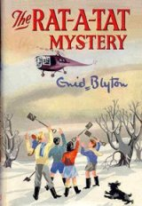 "Cover from ""The Rat-A-Tat Mystery"" illustrated by Anyon Cook"