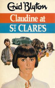 "Dragon paperback of ""Claudine at St Clare's"", cover by Michael Johnson"