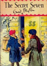 "Cover from ""The Secret Seven"" illustrated by George Brook"