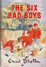 "Cover from ""The Six Bad Boys"" illustrated by Mary Gernat"