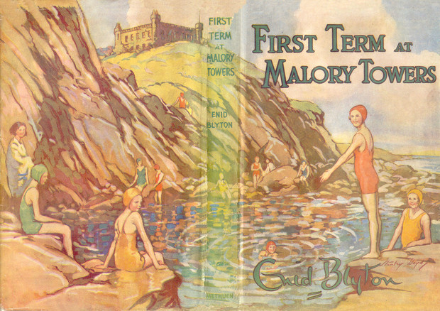 First Term at Malory Towers dustjacket by Stanley Lloyd 1946