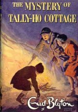 "Cover from ""The Mystery of Tally-Ho Cottage"" illustrated by Treyer Evans"