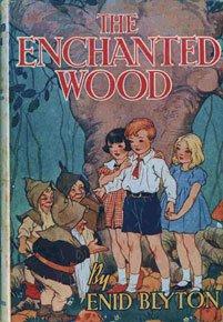 The Enchanted Wood Dust Jacket.