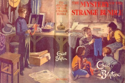 Mystery of the Strange Bundle 1952 illustrated by Treyer Evans