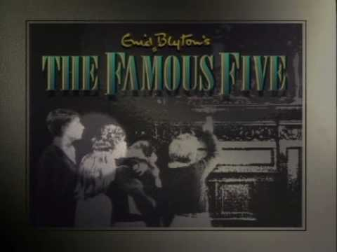 Opening titles of the 90s Famous Five TV series