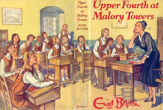 Upper Fourth at Malory Towers 1957 reprint by Lilian Buchanan