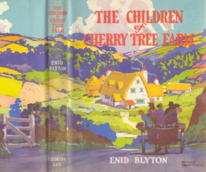 The Children at Cherry Tree farm 1st Edition Dust-wrapper by Harry Rountree