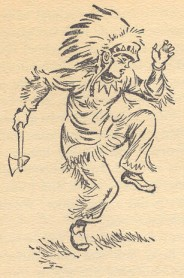Kit the Red Indian illustrated by Gilbert Dunlop
