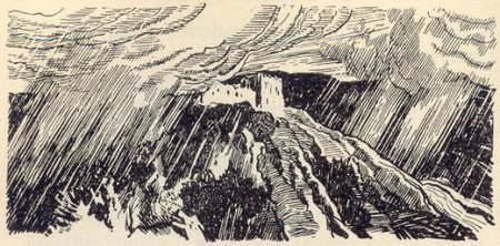 The storm on the night of the rescue
