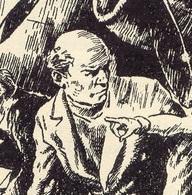 Bill Smugs/Cunningham, of the Adventure Series, drawn by Stuart Tresilian