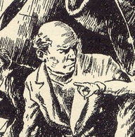 Bill Smugs/Cunningham, of the Adventure Series, drawn by Stuart Tresilian