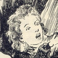 Dinah Mannering of the Adventure Series, drawn by Stuart Tresilian