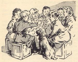 The Secret Seven's first meeting