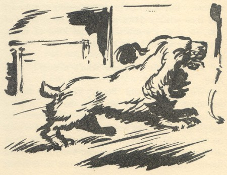 "Scamper drawn by Bruno Kay in ""Go Ahead Secret Seven"""