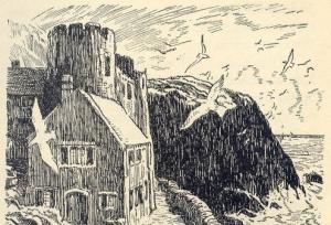 Craggy-Tops drawn by Stuart Tresilian