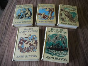 Set of five books from the Adventure series. Taken from the E-Bay listing.