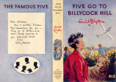 Five go to Billycock Hill 1st Edition Dustjacket by Eileen Soper.