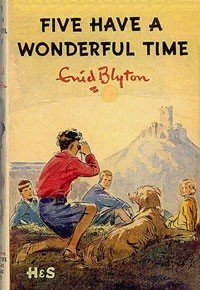 Five have a Wonderful Time 1st edition Dustjacket by Eileen Soper.