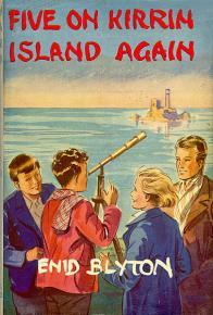 Five on Kirrin Island Again original dustjacket. Illustrated by Eileen Soper.