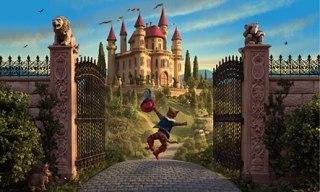 Walter Wick fairytale castle scene
