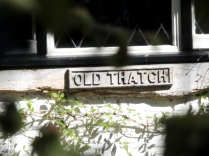 The name plate for the house