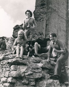 CFF adaption of Five on a Treasure Island (L-R) Gillian Harrison (Anne), Rel Grainer (George), John Baily (Dick) and Richard Palmer (Julian).
