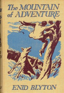 The book that started the love affair: Mountain of Adventure, Illustrated boards by Stuart Tresillian.