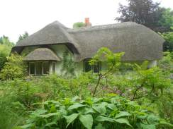 the Entrance Garden and Old Thatch