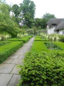 The Formal Garden looking towards the Water Garden