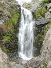 Lightsprout waterfall in Cardingmill Valley.