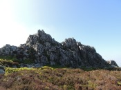 The Devil's Chair up on the Stiperstones.