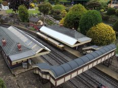 The train station at Bekonscot