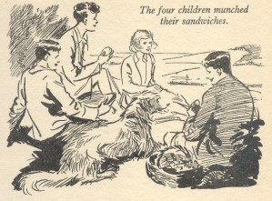 Illustration by Eileen Soper from Enid Blyton's Magazine Annual 3
