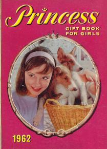 Princess Gift Book for Girls, 1962