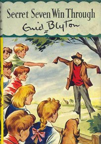 First Edition Cover of Secret Seven Win Through, Illustrated by Bruno Kay.