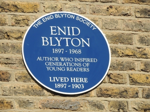 Enid Blyton's home on Chaffinch Road