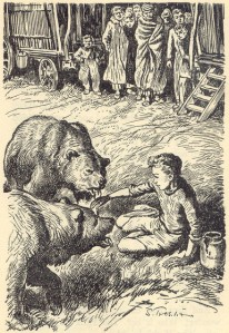 Philip and the bears