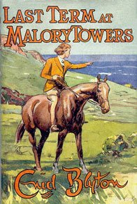 Last Term at Malory Towers First Edition Dust Jacket by Stanley Lloyd 1951.