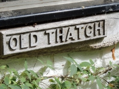 The house name plate